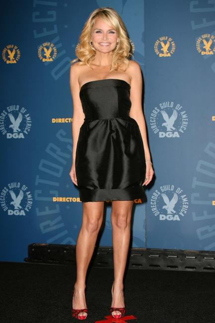 Kristin Chenoweth at the 60th annual DGA Awards.